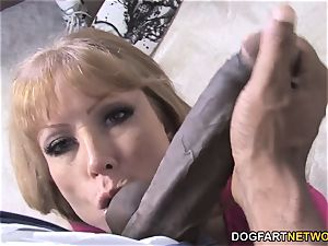 big-boobed mommy Darla Crane Takes bbc In Front Of Her sonny