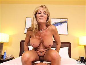 fat milk cans unexperienced Gilf likes hard anal invasion point of view