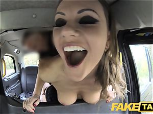 fake taxi Posh women swollen gash and butt drilled
