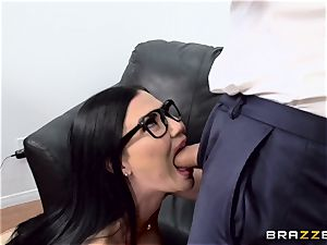 man meat choking brit babe Jasmine Jae pounded in her culo