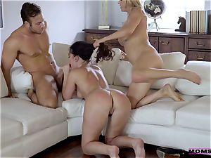 Brittany Shae - My mom's fresh paramour wants to plumb me