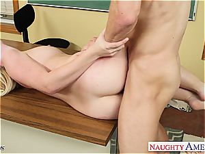 Samantha Rone with petite bumpers down for a supreme ravage