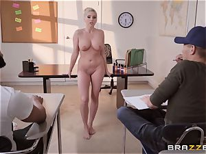 Christie Stevens arched over and romped doggy style