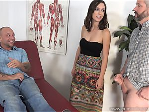 Jade Nile Has Her spouse suck beef whistle and see Her