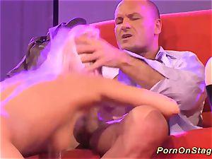 Public 3some pornstage hookup