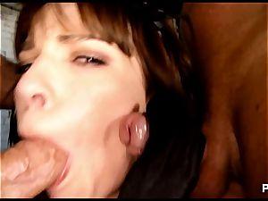 Dana drinking scrotums like a hyena