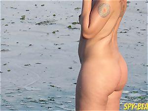 Mature naked Beach voyeur milf amateur Close Up vagina